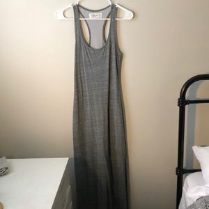 Abercrombie & Fitch Gray Maxi Dress Size S